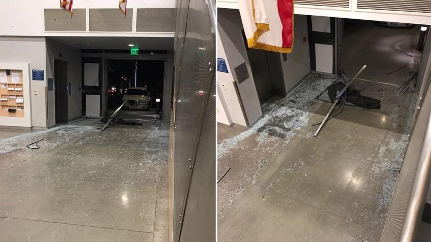 Harbor Division Lobby Crash