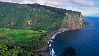 File photo of Waipio Valley and Hamakua Coast, Island of Hawaii (Big Island), Hawaii, United States of America.