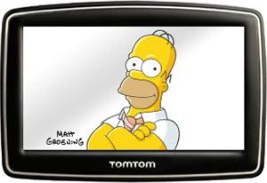 HomerSimpsonONTomTom