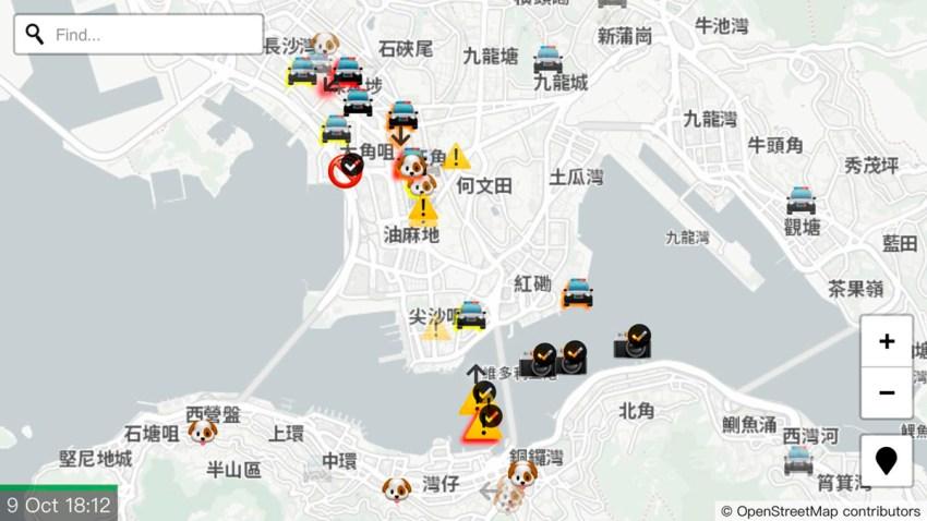 Hong Kong Protests Apple