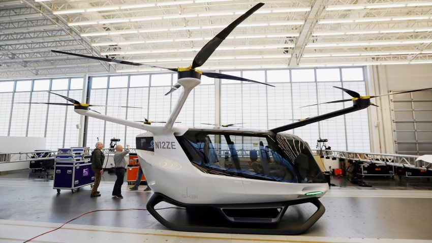 Hydrogen-Powered Flying Personal Vehicle May 2019