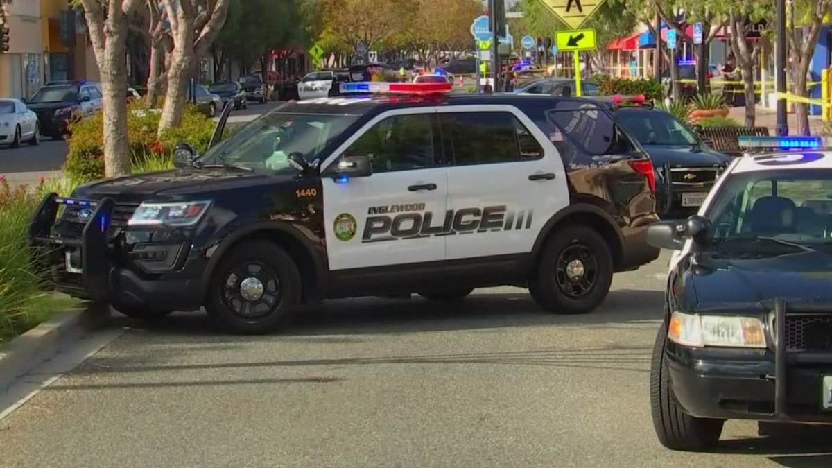 Officers Injured Man With Sword Killed In Shooting At
