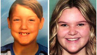 "These two undated file photos released by the National Center for Missing and Exploited Children show Joshua ""JJ"" Vallow, left, and Tylee Ryan. The children's mother Lori Vallow, also known as Lori Daybell, was arrested in Hawaii after refusing to cooperate with officials' requests for information about the children's whereabouts."