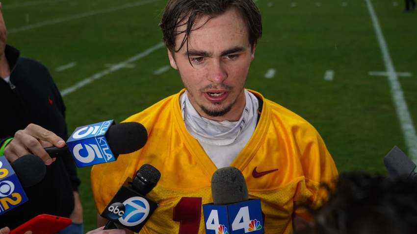 JT-Daniels-USC-quarterback-August-2019