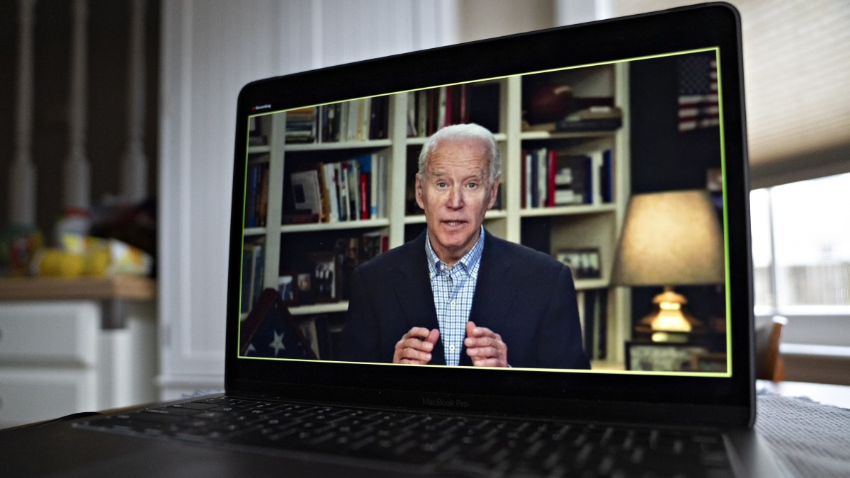 Biden Debuts Podcast in His Virtual Campaign for President 1
