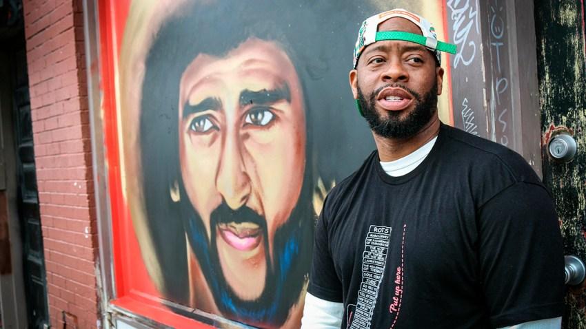 Super Bowl Art Protest