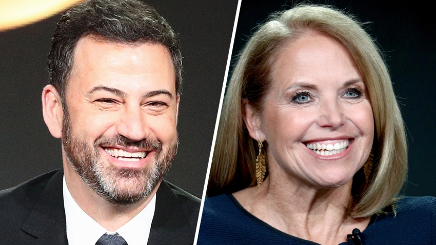 Jimmy Kimmel Gets 1st Colonoscopy With Help From Katie Couric Nbc Los Angeles