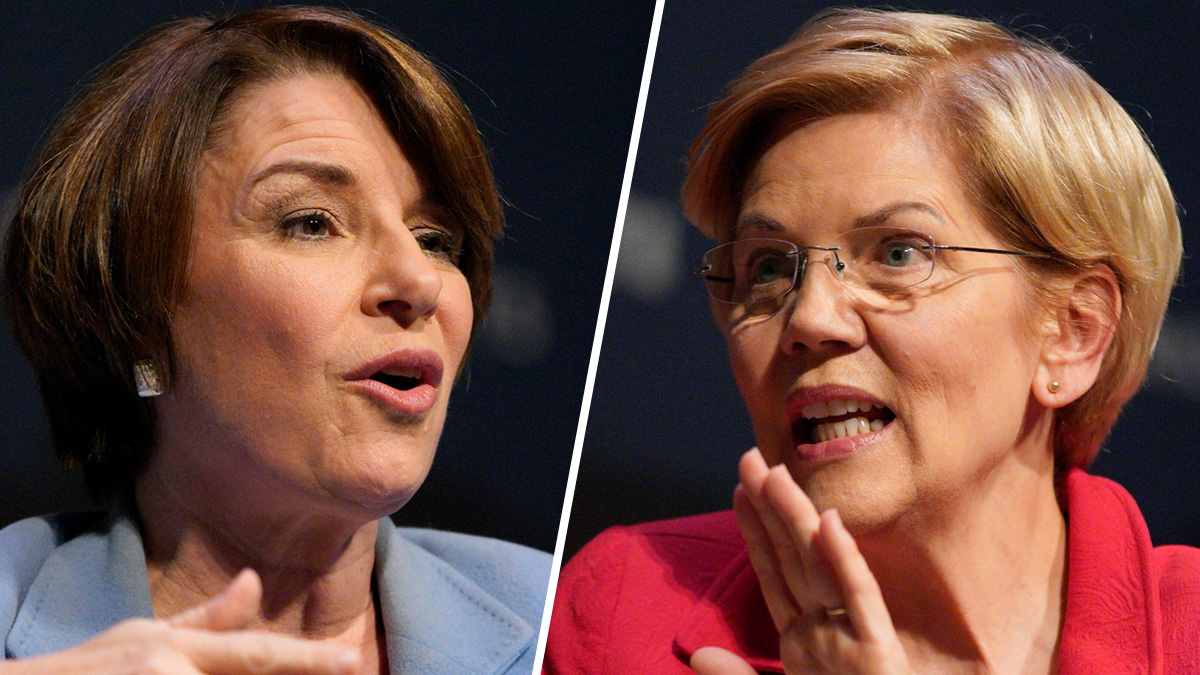 NY Times Endorses Klobuchar, Warren in Democratic Contest 1