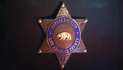 LA County Sheriff's Deputy Badge