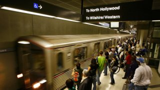 File photo of LA Metro Station