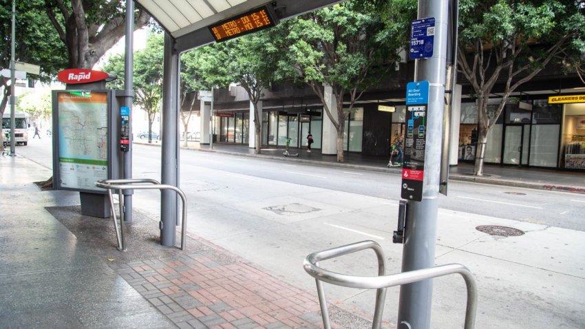 LA Metro Bus Stop