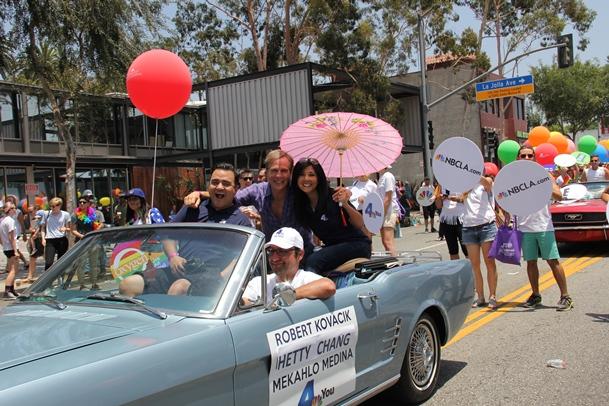 LA Pride Robert Hetty Mekhalo 2014