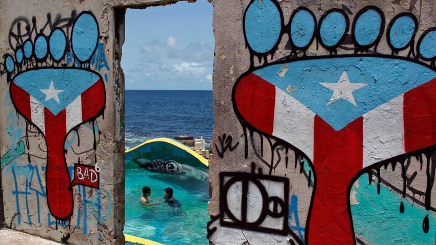 APTOPIX Puerto Rico La Perla