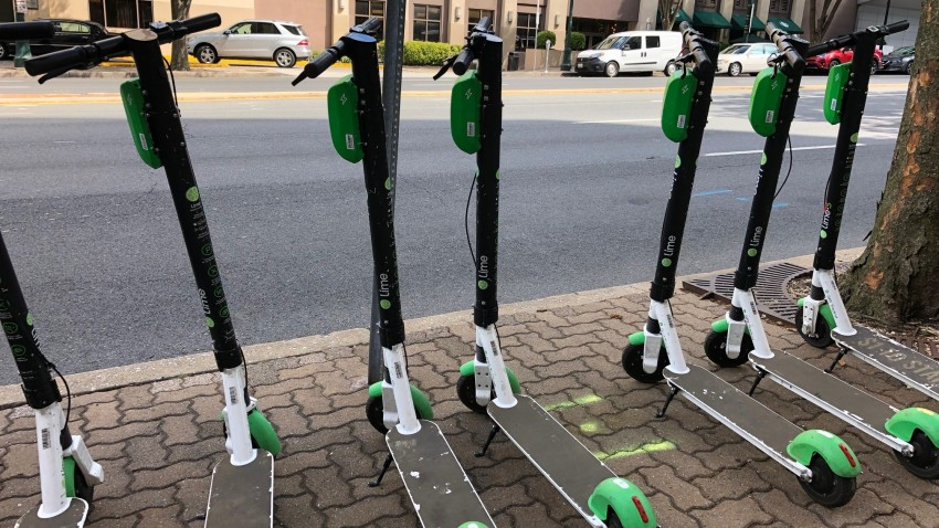 Lime Scooters Large