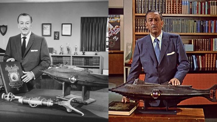 Lot 153. Walt Disney with Nautilus Model a-side
