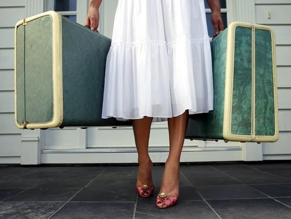 LuggagePinkShoes