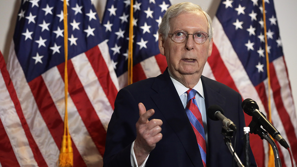 McConnell Tries to Salvage Senate Majority With Court Vote 1