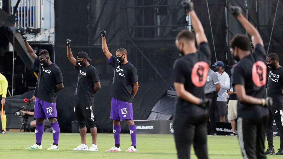 He wasn't talking about either goal he played a part in during Orlando City's 2-1 victory over Inter Miami on Wednesday night.  Nearly 200 players too