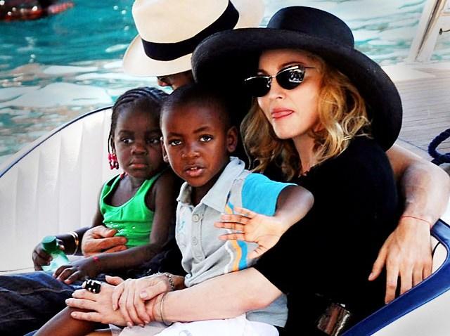 Madonna - Mercy and David