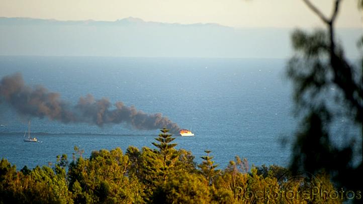 Malibu Boat Fire
