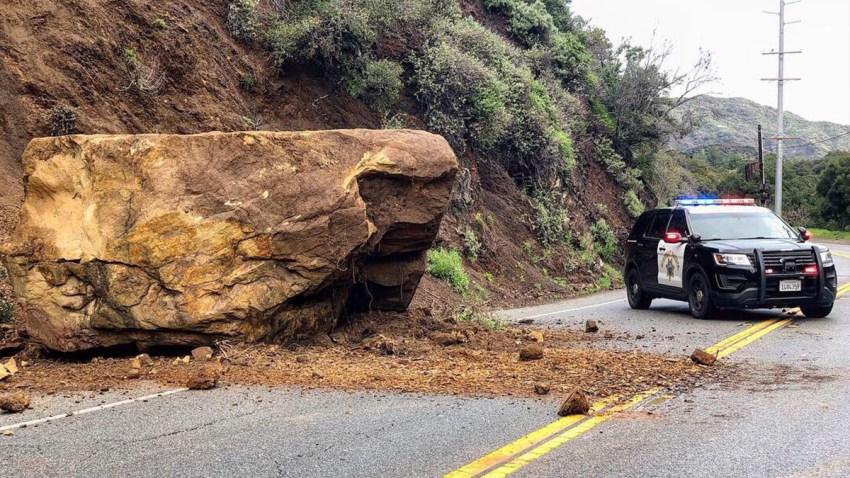 Malibu Canyon Road Boulder