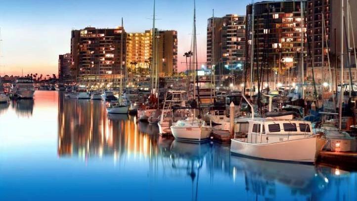 MarinadelReySunset Harbor