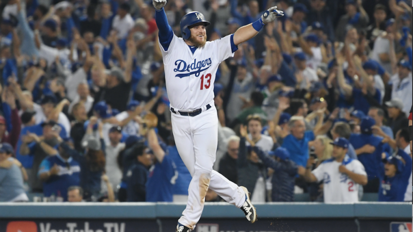 Max Muncy World Series Walk off