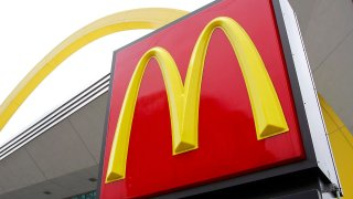 McDonald's Sign Golden Arches
