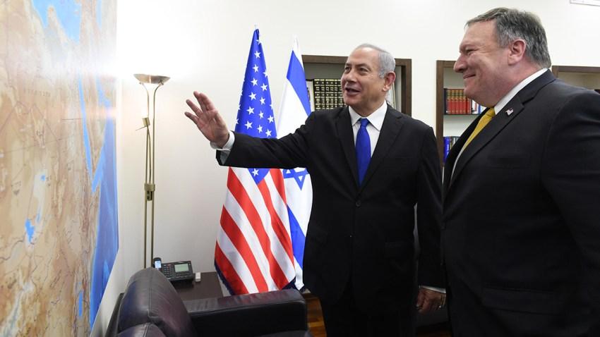 Despite Virus, Pompeo Talks West Bank Annexation in Israel 1