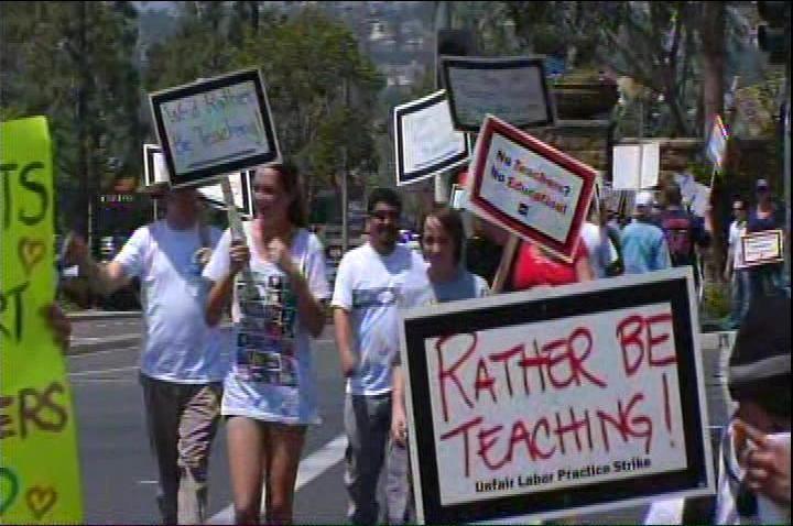 Monday Teachers Strike