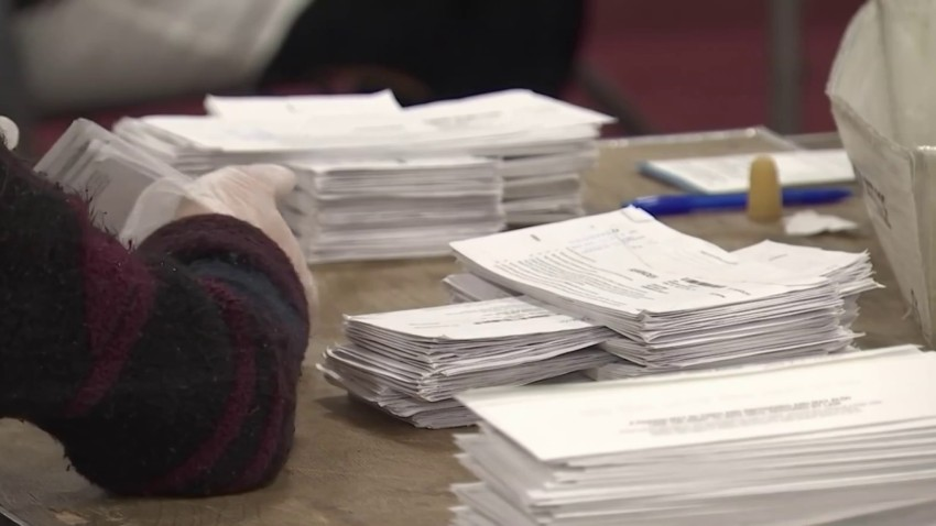 Ballot being counted in Paterson