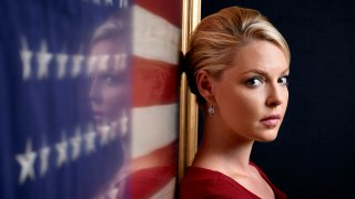 """In this file photo, Katherine Heigl as Charleston Tucker in """"State of Affairs."""""""