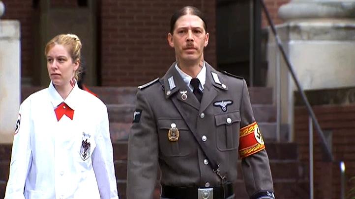 Nazi Dad in Court