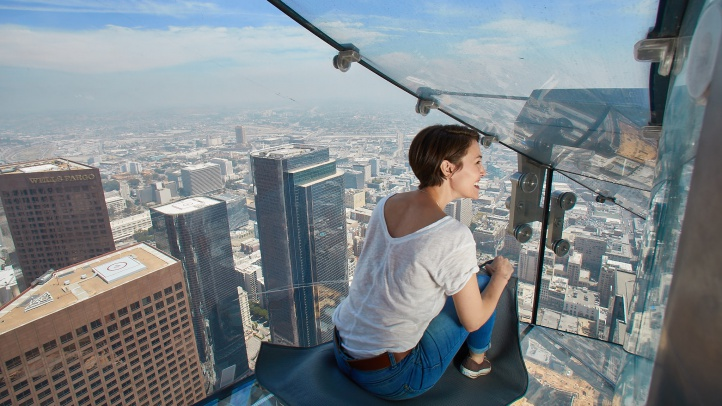Fly For A 1 Deal On The Famous Skyslide Nbc Los Angeles
