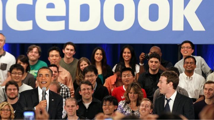 Obama at Facebook