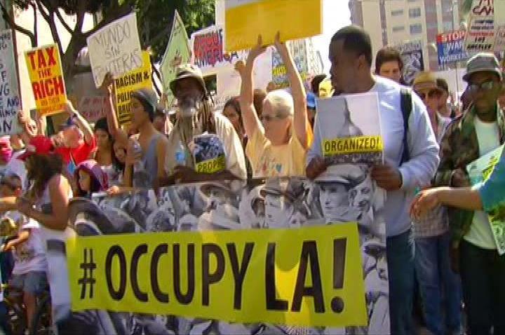 Occupy LA Saturday