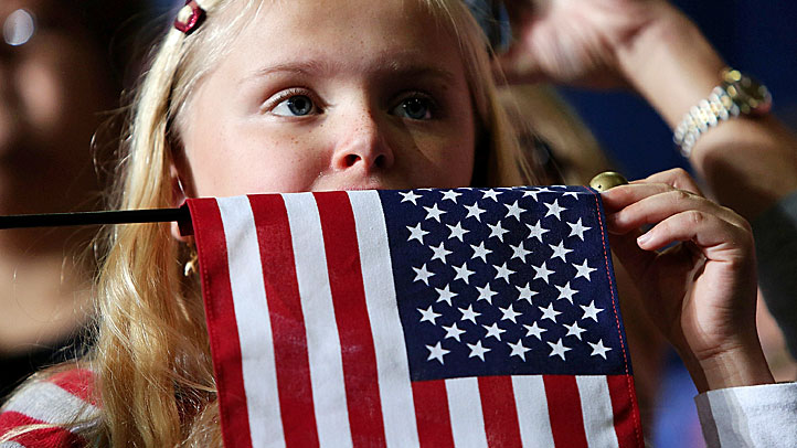 Patriotic-Flag-Girl-Electio