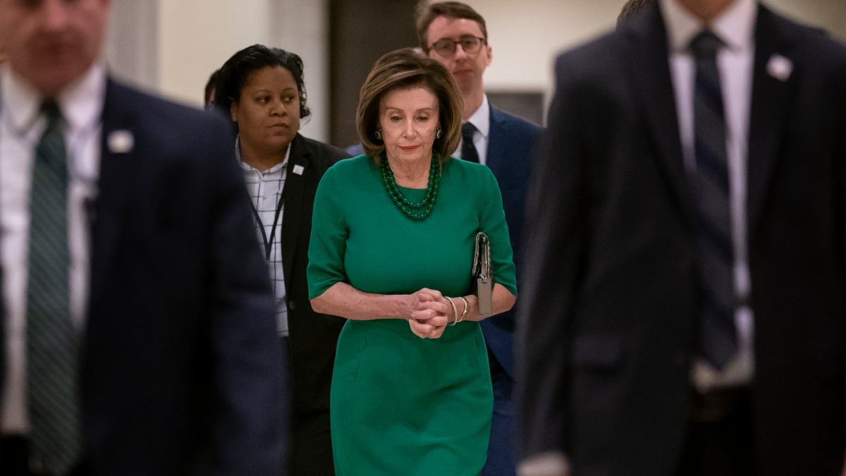 Pelosi Says Agreement Near With White House on Virus Aid 1