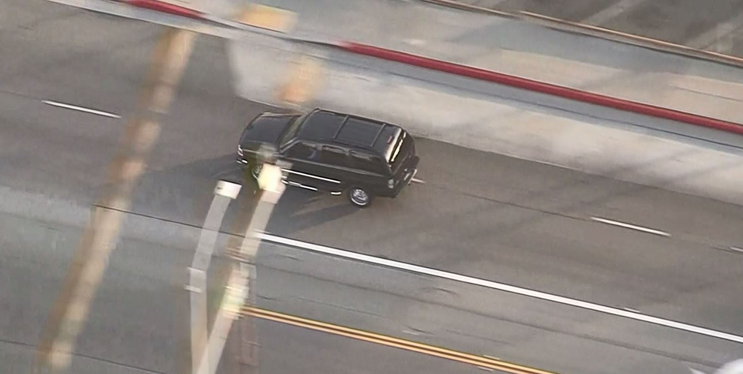 Police Pursuit of Assault With Deadly Weapon Suspect in San Gabriel Valley Area Moves to East LA Area