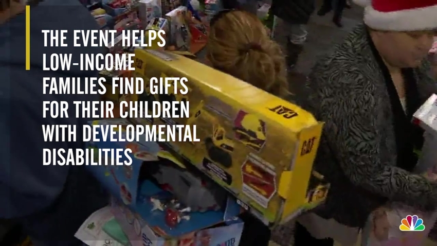 'Shop and Wrap' Event Gives Holiday Gifts to Low-Income ...