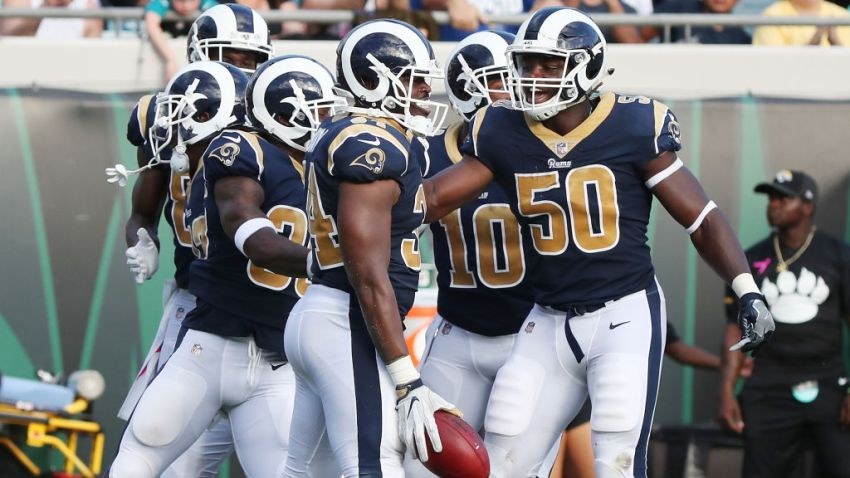 Rams Shock Jaguars with two special teams touchdowns