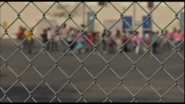 School Fence LAUSD