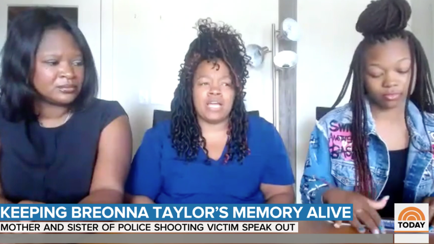 Breonna Taylor's mother Tamika Palmer and sister Juniyah Palmer appeared on TODAY.