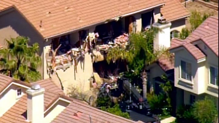 Sylmar House standoff destroyed