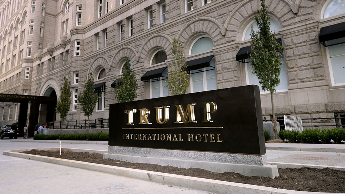 Trump Set to Cash in as His Washington, DC, Hotel is Sold Out for Election Night 1
