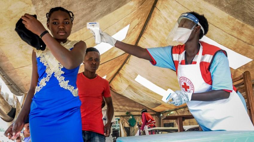 APTOPIX Uganda Ebola Outbreak