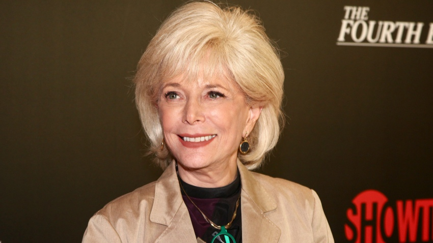 """In this May 9, 2018, file photo, Lesley Stahl attends a panel discussion about the Showtime documentary """"The Fourth Estate"""" at TheTimesCenter in New York."""