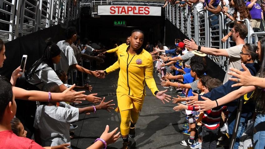 WNBA Riquna Williams Domestic Violence July 2019
