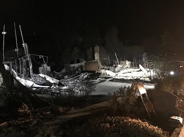 Woolsey Fire Neighborhood Aftermath 6