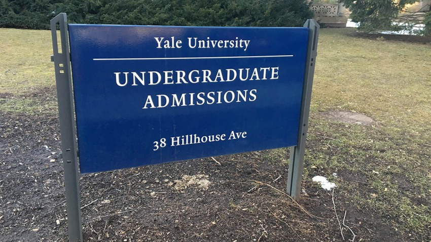 Yale admissions 1200